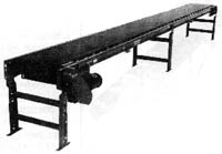 Model 196RB Roller Bed Belt Conveyor